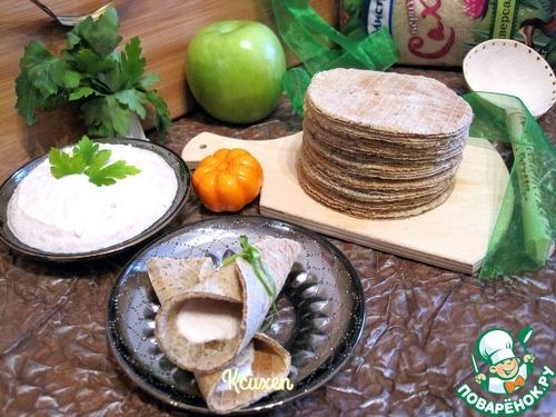 """Как приготовить Вафли """"Бородинские"""" с муссом из сельди вкусный рецепт приготовления с фото #9"""