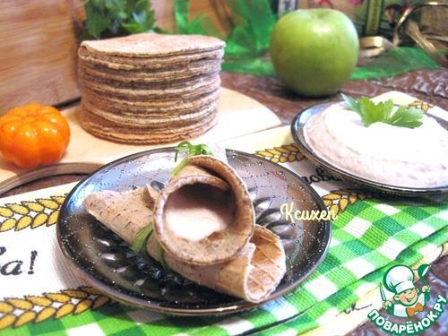 """Как приготовить Вафли """"Бородинские"""" с муссом из сельди вкусный рецепт приготовления с фото #10"""