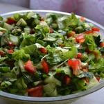 Салат Весенний с кресс-салатом