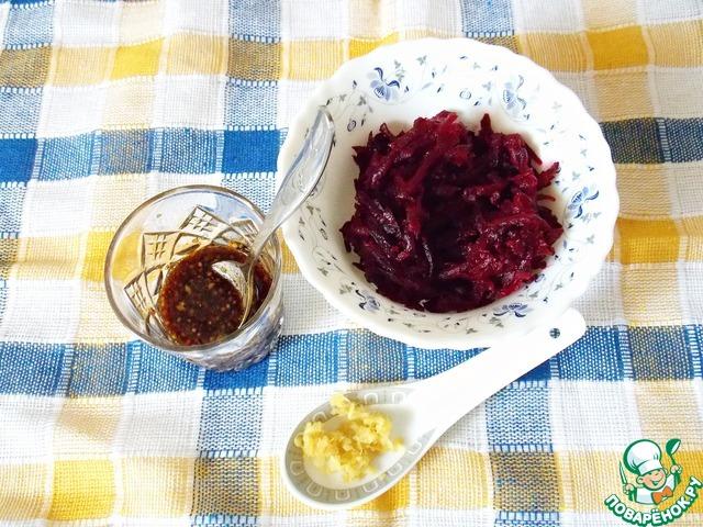 """Готовим Салат """"Морская свекла"""" домашний пошаговый рецепт с фото #2"""