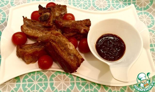 Ребрышки с соусом терияки рецепт