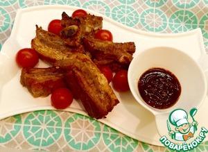 Острые свиные ребрышки простой рецепт приготовления с фото пошагово