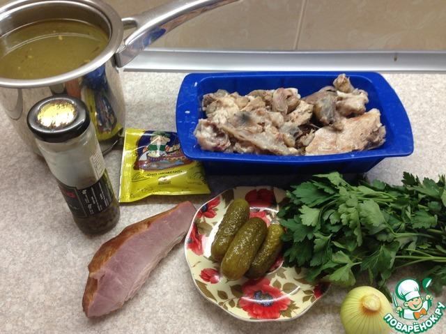Мясной террин с ветчиной и петрушкой домашний рецепт приготовления с фотографиями пошагово готовим #1