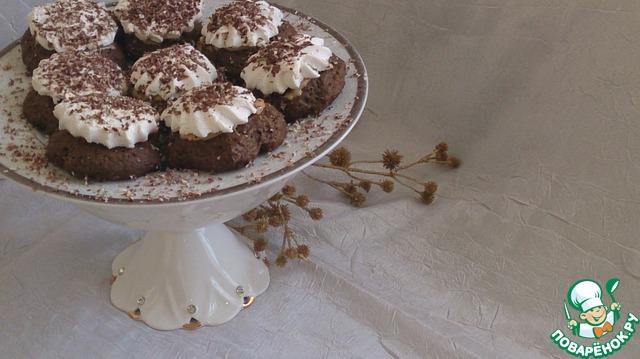 Как приготовить рецепт с фото Печенье с карамелью и зефиром #10