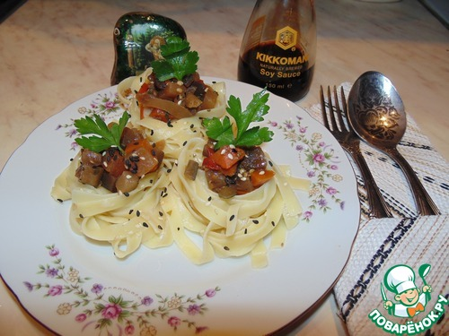 Как готовить Овощное рагу в гнёздах вкусный пошаговый рецепт приготовления с фотографиями #13