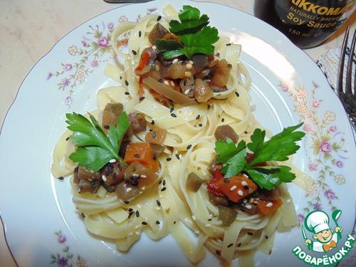 Как готовить Овощное рагу в гнёздах вкусный пошаговый рецепт приготовления с фотографиями #14