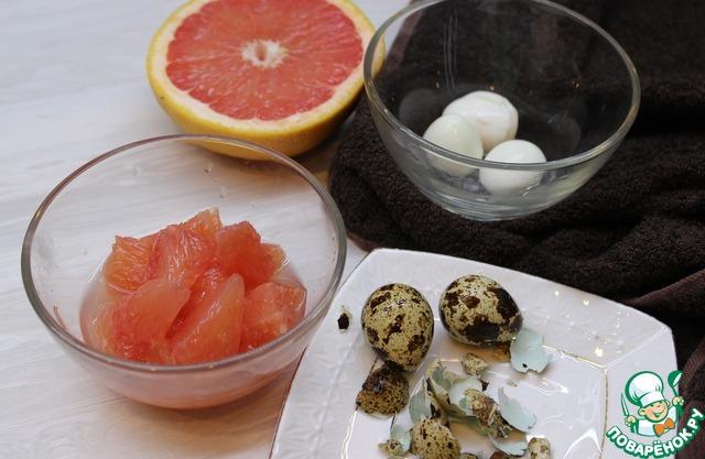 Салат с куриной печенью и грейпфрутом простой рецепт с фото пошагово #2