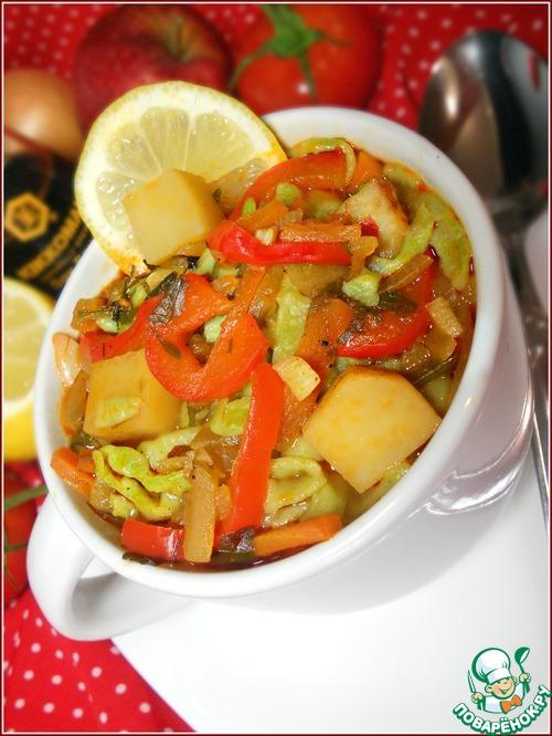 Лапша из зеленого горошка с овощами простой рецепт с фотографиями пошагово как приготовить #19