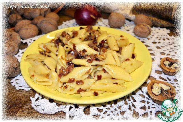 Паста ореховая с луком простой рецепт с фото #8
