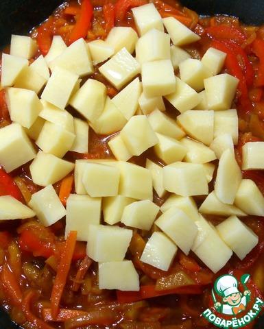 Лапша из зеленого горошка с овощами простой рецепт с фотографиями пошагово как приготовить #15