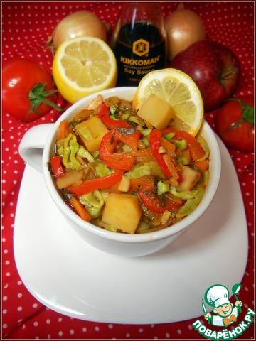 Лапша из зеленого горошка с овощами простой рецепт с фотографиями пошагово как приготовить #18