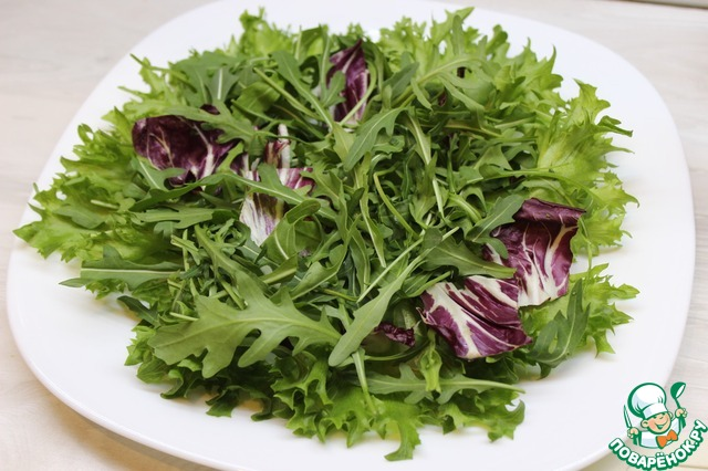 Салат с куриной печенью и грейпфрутом простой рецепт с фото пошагово #4