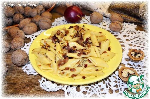 Паста ореховая с луком простой рецепт с фото #9
