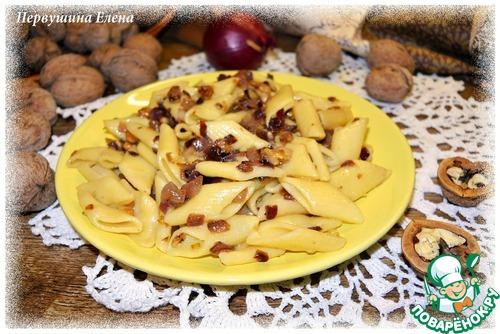 Паста ореховая с луком простой рецепт с фото #10