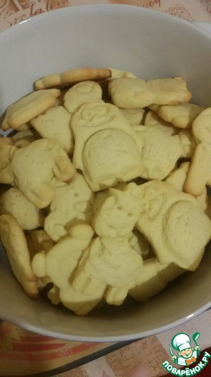 Как готовить Печенье кукурузное