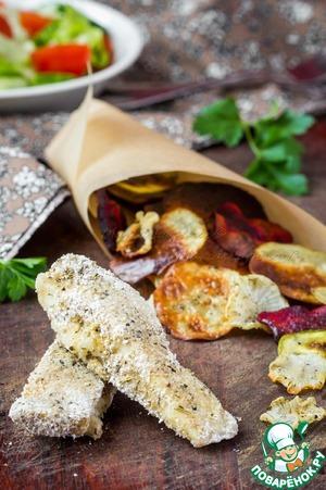 Рецепт Диетическая рыба и чипсы