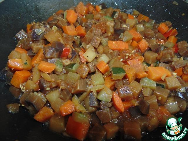 Как готовить Овощное рагу в гнёздах вкусный пошаговый рецепт приготовления с фотографиями #6