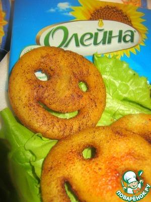 """Рецепт Картофельные смайлики """"Улыбка"""""""