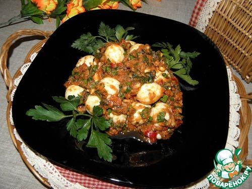 """Закуска из яиц """"Частый гость"""" простой рецепт приготовления с фото пошагово как готовить #9"""