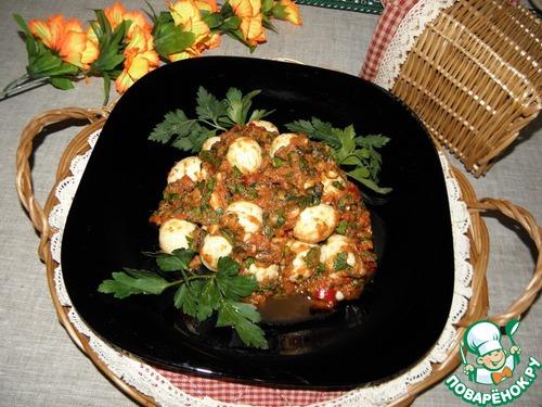 """Закуска из яиц """"Частый гость"""" простой рецепт приготовления с фото пошагово как готовить #10"""