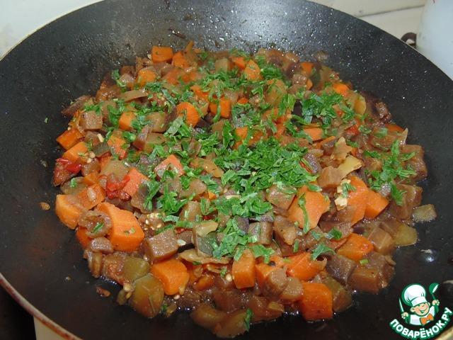 Как готовить Овощное рагу в гнёздах вкусный пошаговый рецепт приготовления с фотографиями #9