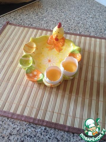 """Яичные гнезда """"Курочка Ряба"""" простой рецепт приготовления с фото пошагово готовим #3"""