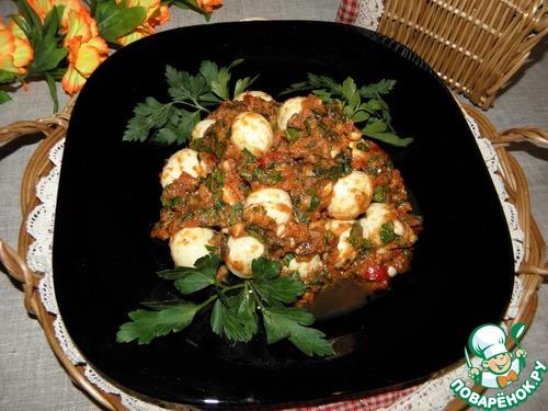 """Закуска из яиц """"Частый гость"""" простой рецепт приготовления с фото пошагово как готовить #11"""