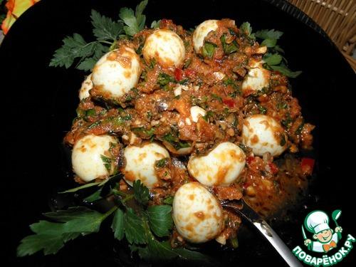 """Закуска из яиц """"Частый гость"""" простой рецепт приготовления с фото пошагово как готовить #12"""