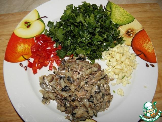 """Закуска из яиц """"Частый гость"""" простой рецепт приготовления с фото пошагово как готовить #3"""