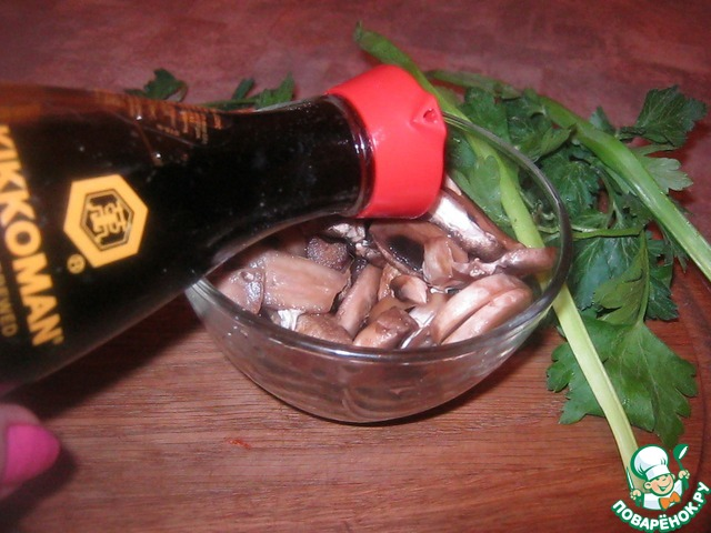 """Как приготовить Закуска """"Сюрприз"""" простой пошаговый рецепт приготовления с фотографиями #6"""