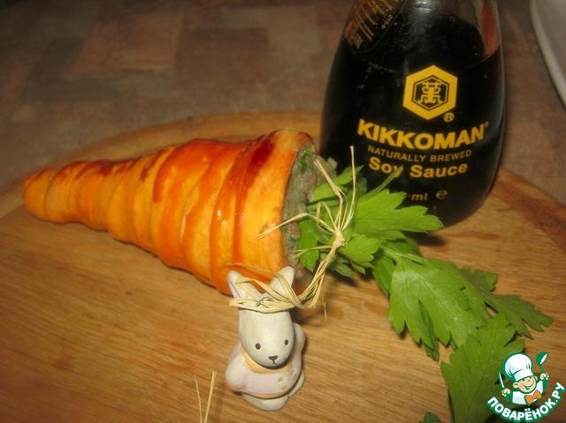 """Как приготовить Закуска """"Сюрприз"""" простой пошаговый рецепт приготовления с фотографиями #11"""