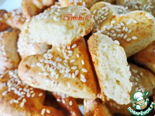 """Как готовить Сырное печенье """"Арабеска"""" домашний рецепт приготовления с фотографиями пошагово #9"""