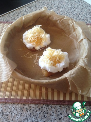 """Яичные гнезда """"Курочка Ряба"""" простой рецепт приготовления с фото пошагово готовим #5"""