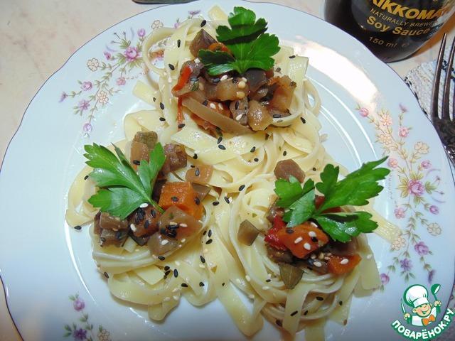 Как готовить Овощное рагу в гнёздах вкусный пошаговый рецепт приготовления с фотографиями #12