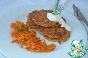 Готовим Морковные оладушки вкусный рецепт с фотографиями пошагово
