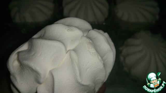Как приготовить рецепт с фото Печенье с карамелью и зефиром #8