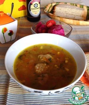 Рецепт Полбяной суп с картофельными клецками