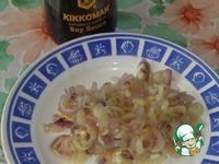 Постный салат с сухариками и фасолью ингредиенты