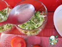 Легкий слоеный салат ингредиенты