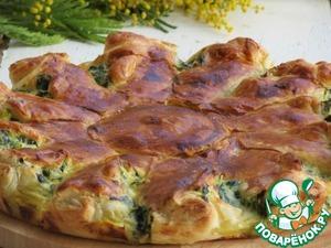 Как приготовить Пирог с рикоттой и зеленью домашний рецепт приготовления с фото пошагово