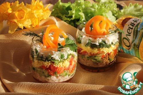 Рецепты салатов на поваренок ру с фото