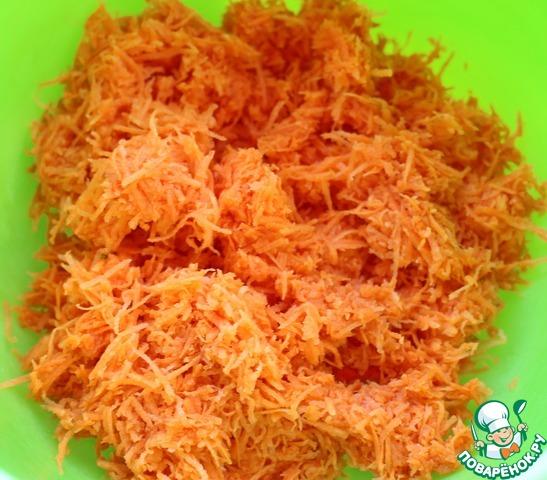 """Готовим Морковное печенье """"Яркость жизни"""" простой пошаговый рецепт с фотографиями #2"""