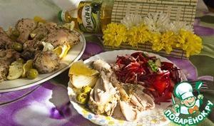 Готовим Пряные куриные ножки домашний пошаговый рецепт приготовления с фото