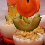Весенние фаршированные яйца