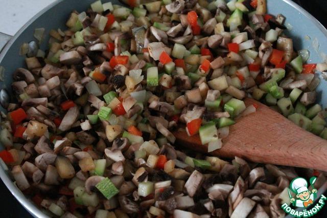 Картофельные тарталетки с овощами рецепт с фото #8