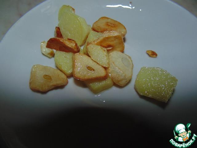 Бурый рис с имбирными креветками простой рецепт приготовления с фото пошагово как приготовить #9