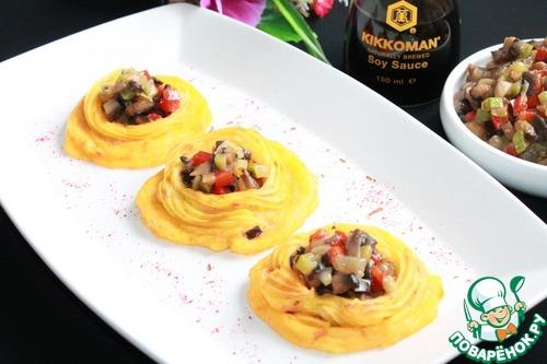 Картофельные тарталетки с овощами рецепт с фото #13