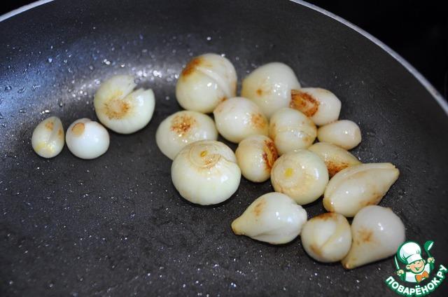 Готовим Закуска из спаржи и карамелизированного лука простой рецепт приготовления с фото #2