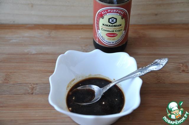 Готовим Закуска из спаржи и карамелизированного лука простой рецепт приготовления с фото #3