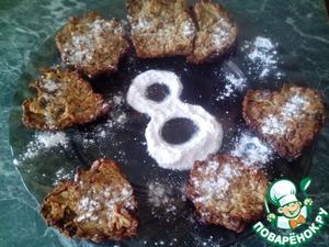 Рецепт Вкусное овсяное печенье